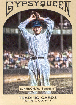 2011 Topps Gypsy Queen #38 Walter Johnson