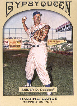 2011 Topps Gypsy Queen #59 Duke Snider
