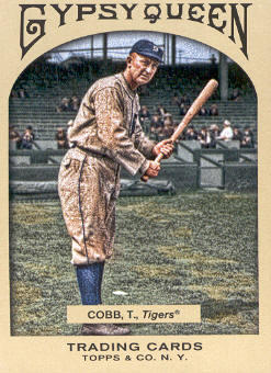 2011 Topps Gypsy Queen #29 Ty Cobb