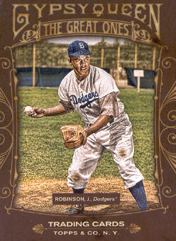 2011 Topps Gypsy Queen Great Ones #GO8 Jackie Robinson