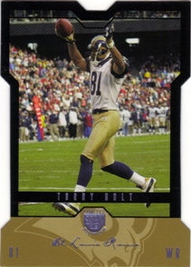 2004 SkyBox LE Black Border Platinum #18 Torry Holt
