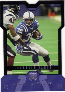 2004 SkyBox LE Black Border Platinum #47 Edgerrin James