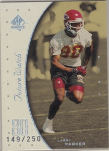 1999 SP Authentic Excitement #135 Larry Parker