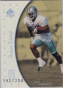 1999 SP Authentic Excitement #136 Wane McGarity