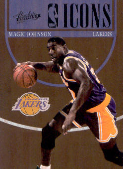 2010-11 Absolute Memorabilia NBA Icons #7 Magic Johnson