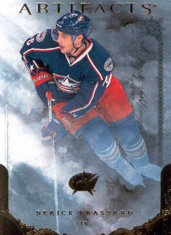2010-11 Artifacts #34 Derick Brassard