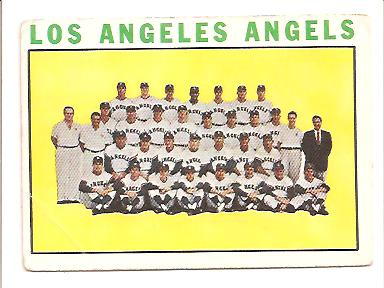 1964 Topps #213 Los Angeles Angels TC