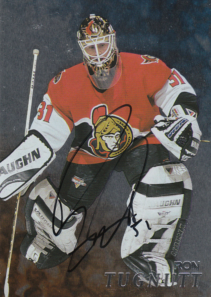 1998-99 Be A Player Autographs #244 Ron Tugnutt