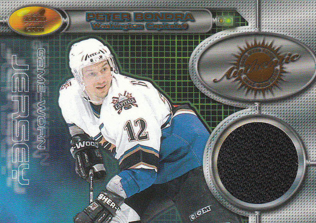 2000-01 Aurora Game Worn Jerseys #10 Peter Bondra