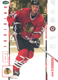 2003-04 Parkhurst Original Six Chicago #7 Jason Strudwick