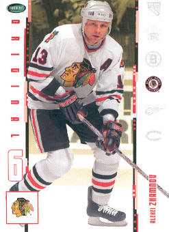 2003-04 Parkhurst Original Six Chicago #18 Alexei Zhamnov