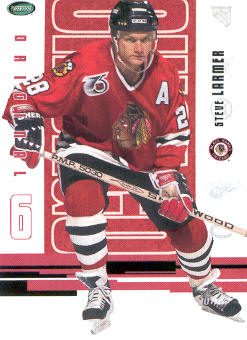 2003-04 Parkhurst Original Six Chicago #38 Steve Larmer