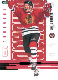 2003-04 Parkhurst Original Six Chicago #39 Dirk Graham
