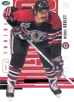 2003-04 Parkhurst Original Six Chicago #54 Michel Goulet