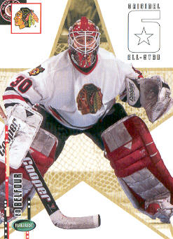 2003-04 Parkhurst Original Six Chicago #62 Ed Belfour