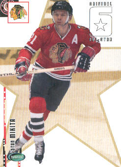 2003-04 Parkhurst Original Six Chicago #65 Stan Mikita