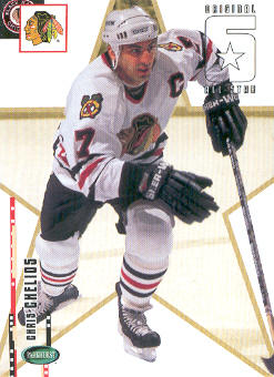 2003-04 Parkhurst Original Six Chicago #69 Chris Chelios