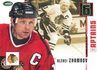 2003-04 Parkhurst Original Six Chicago #71 Alexei Zhamnov