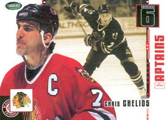 2003-04 Parkhurst Original Six Chicago #72 Chris Chelios
