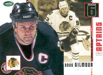 2003-04 Parkhurst Original Six Chicago #73 Doug Gilmour