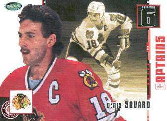 2003-04 Parkhurst Original Six Chicago #75 Denis Savard