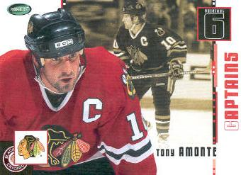 2003-04 Parkhurst Original Six Chicago #76 Tony Amonte