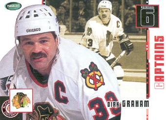 2003-04 Parkhurst Original Six Chicago #77 Dirk Graham