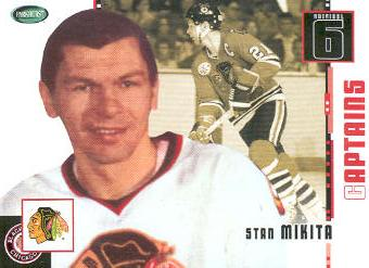 2003-04 Parkhurst Original Six Chicago #78 Stan Mikita