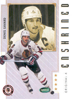 2003-04 Parkhurst Original Six Chicago #81 Denis Savard