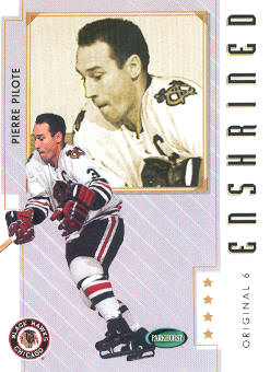 2003-04 Parkhurst Original Six Chicago #82 Johnny Bower