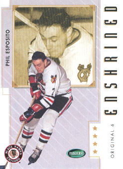 2003-04 Parkhurst Original Six Chicago #87 Phil Esposito