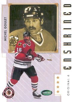 2003-04 Parkhurst Original Six Chicago #90 Michel Goulet