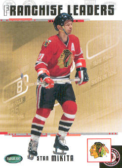 2003-04 Parkhurst Original Six Chicago #93 Stan Mikita