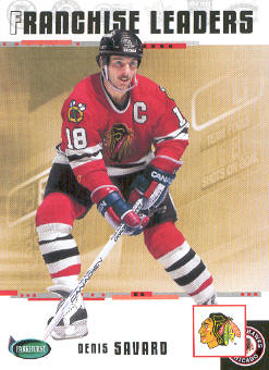 2003-04 Parkhurst Original Six Chicago #96 Denis Savard
