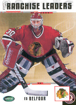 2003-04 Parkhurst Original Six Chicago #98 Ed Belfour