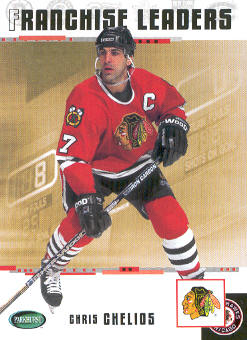 2003-04 Parkhurst Original Six Chicago #99 Chris Chelios