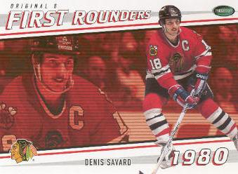 2003-04 Parkhurst Original Six Chicago Inserts #C16 Denis Savard