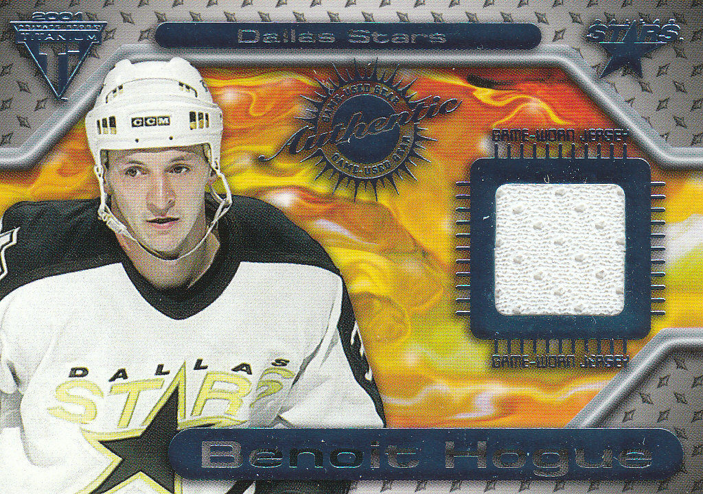 2000-01 Titanium Game Gear #83 Benoit Hogue