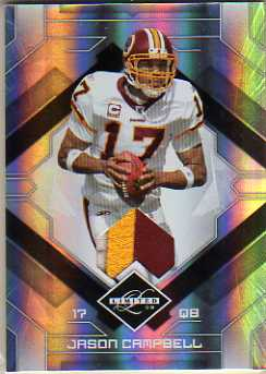 2009 Limited Threads Prime #100 Jason Campbell/50