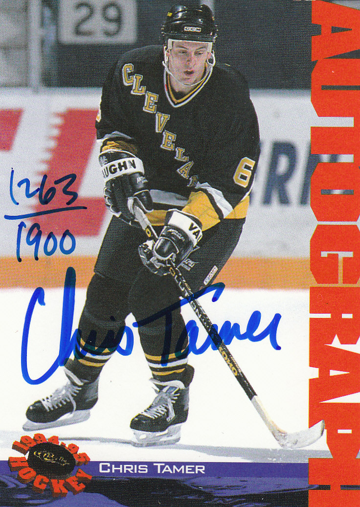1994 Classic Autographs #94 Chris Tamer/1900