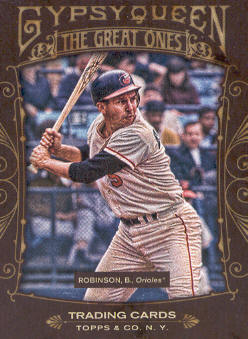 2011 Topps Gypsy Queen Great Ones #GO4 Brooks Robinson