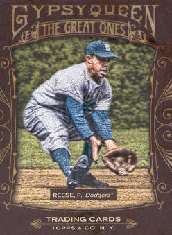 2011 Topps Gypsy Queen Great Ones #GO17 Pee Wee Reese
