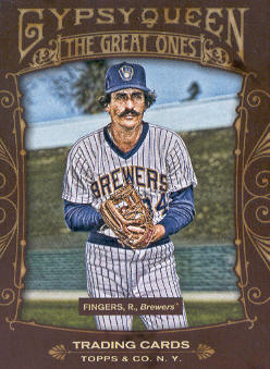 2011 Topps Gypsy Queen Great Ones #GO20 Rollie Fingers