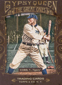 2011 Topps Gypsy Queen Great Ones #GO24 Ty Cobb