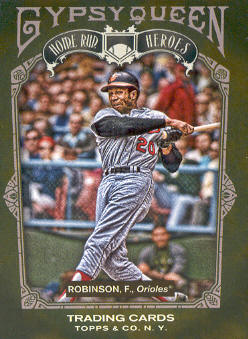 2011 Topps Gypsy Queen Home Run Heroes #HH17 Frank Robinson