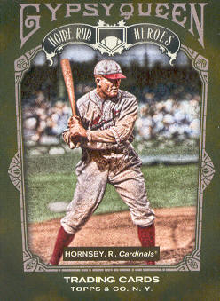 2011 Topps Gypsy Queen Home Run Heroes #HH24 Rogers Hornsby