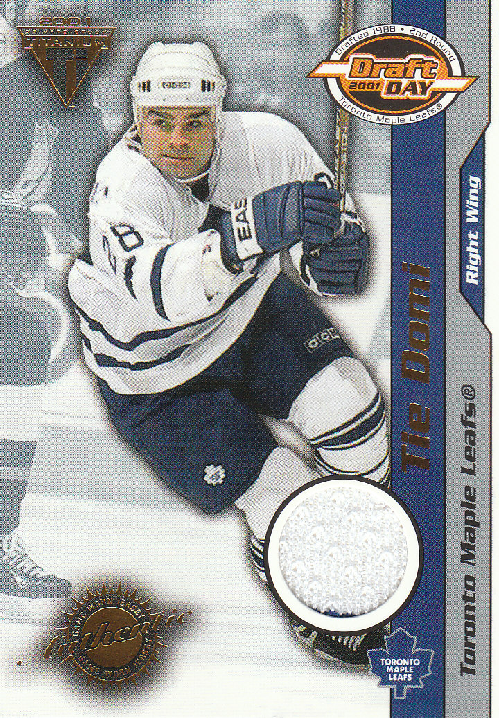 2000-01 Titanium Draft Day Edition #95 Tie Domi/535