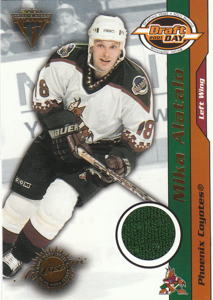 2000-01 Titanium Draft Day Edition #74 Mika Alatalo/535