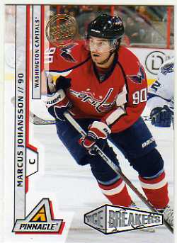 2010-11 Pinnacle Artists Proofs #225 Marcus Johansson