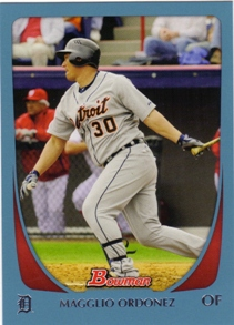 2011 Bowman Blue #85 Magglio Ordonez